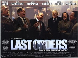 Last Orders (film) - Original poster