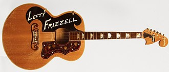 Lefty Frizzell - Frizzell's custom guitar