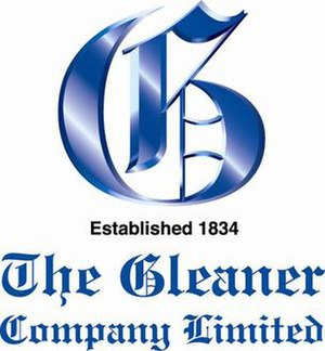 Gleaner Company - Image: Logo of The Gleaner Company Ltd