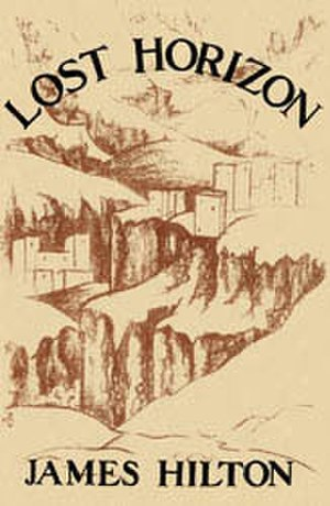 Lost Horizon - Dust jacket from the first edition
