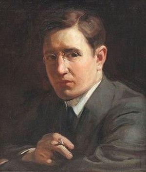 Louis Grell - Self Portrait ca 1916
