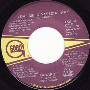 Love Me in a Special Way - Image: Love Me in a Special Way