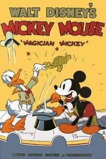 <i>Magician Mickey</i> 1937 Mickey Mouse cartoon
