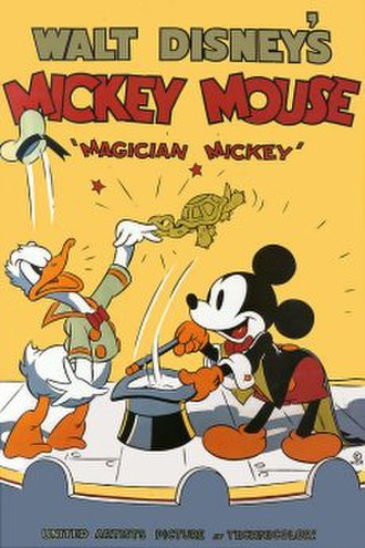 Magician Mickey - Original theatrical poster