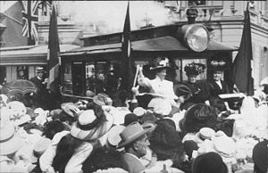 Trams in Australia - Opening of the Maitland Tramway in 1909