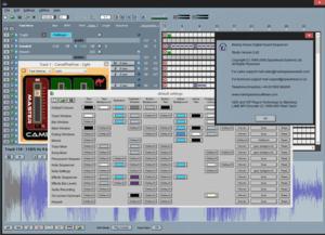 Making Waves (software) - Image: Making Waves Studio v 542 too