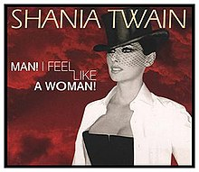 Shania Twain — Man! I Feel Like a Woman! (studio acapella)
