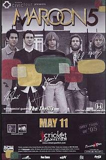 5th Annual Honda Civic Tour 2005 tour by Maroon 5