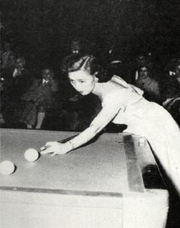 Masako Katsura Japanese carom billiards player