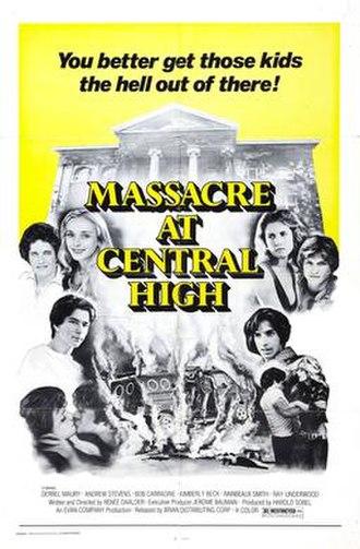Massacre at Central High - Image: Massacre at Central High Film Poster