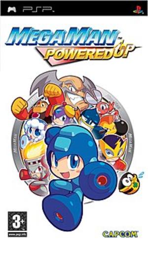 Mega Man Powered Up - European box art