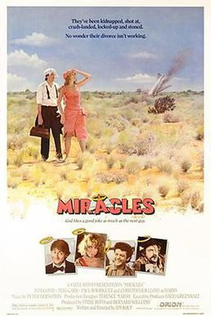 Miracles (1986 film) - Theatrical release poster