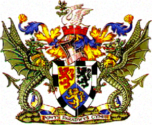 District of Montgomeryshire - Arms of Montgomeryshire District Council