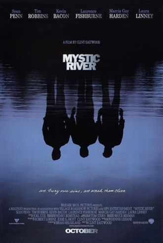 Mystic River (film) - Theatrical release poster by Bill Gold