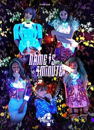 Name Is 4Minute - Image: Name is 4Minute
