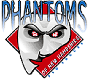 Seacoast United Phantoms - Old New Hampshire Phantoms logo