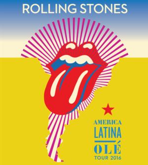 América Latina Olé Tour 2016 - Promotional poster for the tour