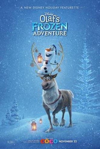 Olaf's Frozen Adventure - Film poster