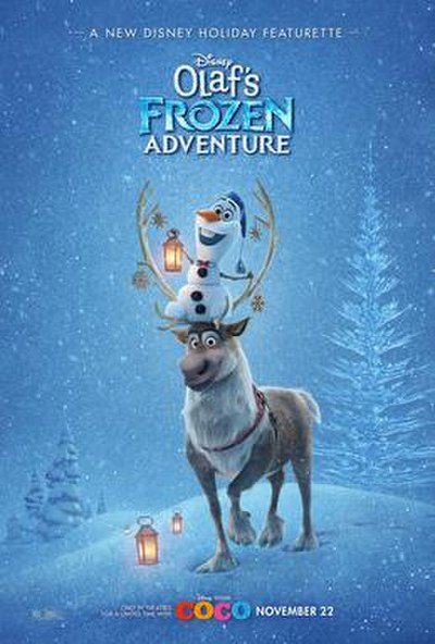 Picture of a movie: Olaf's Frozen Adventure