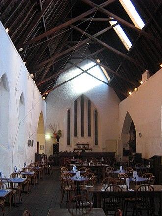 Old Perth Boys School - The interior of Old Perth Boys School