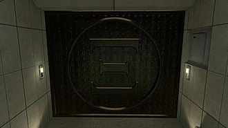 Xi (alternate reality game) - The monolith, the mystery door in The Hub- the end of Xis mystery.