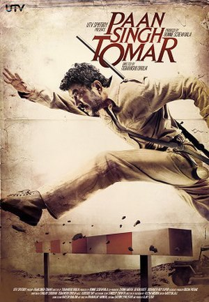 Paan Singh Tomar (film) - Theatrical release poster