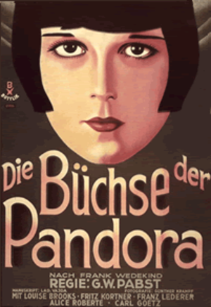 Pandora's Box (1929 film) - theatrical poster