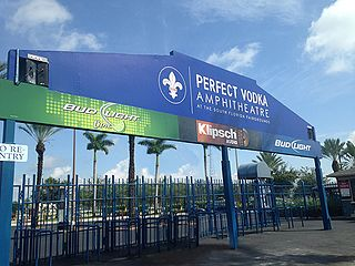 ITHINK Financial Amphitheatre concert venue in West Palm Beach, Florida, United States of America
