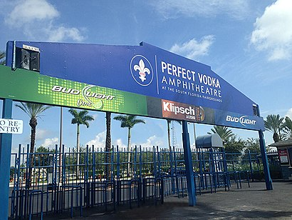 How to get to Coral Sky Amphitheatre with public transit - About the place