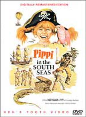 Pippi in the South Seas (film) - DVD cover