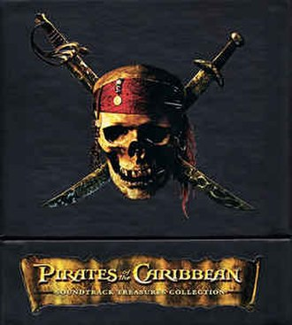 Pirates of the Caribbean: Soundtrack Treasures Collection - Image: Pirates of the Caribbean Soundtrack Treasures Collection