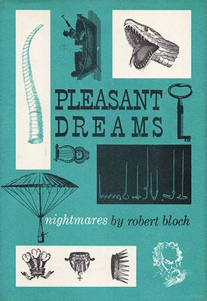 Pleasant Dreams: Nightmares - Jacket illustration by Gary Gore for Pleasant Dreams: Nightmares by Robert Bloch