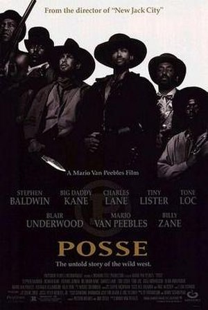 Posse (1993 film) - Theatrical release poster