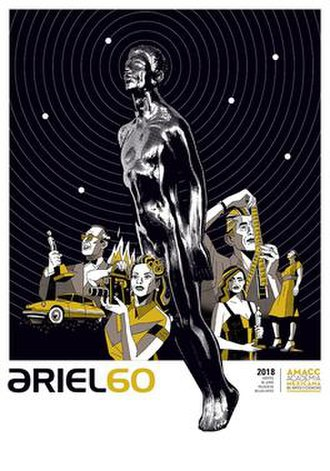 60th Ariel Awards - Official poster for the 60th Ariel Awards created by Dr. Alderete.