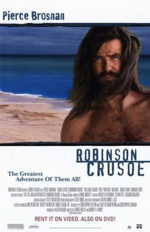 Robinson Crusoe (1997 film) - Home Video release poster