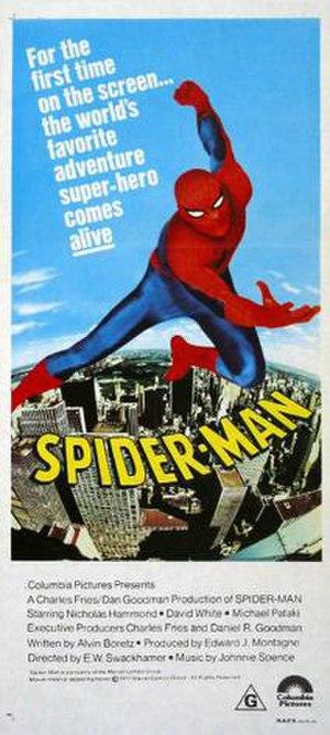 Spider-Man (1977 film) - Australian theatrical release poster