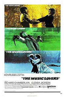 <i>The Music Lovers</i> 1970 film by Ken Russell