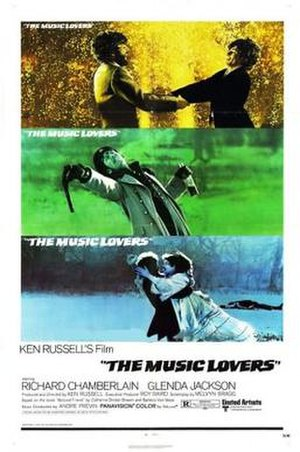 The Music Lovers - Image: Poster of the movie The Music Lovers