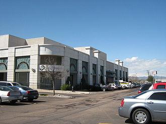 Broadway Plaza (Denver) - The department store, now Quest Diagnostics