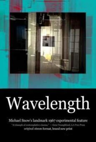 Wavelength (1967 film) - Promotional poster for new workprint
