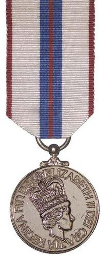 Queen Elizabeth II Silver Jubilee Medal - Image: QE2 Silver Jubilee Medal