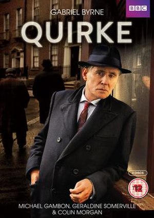 Quirke (TV series) - Image: Quirke DVD