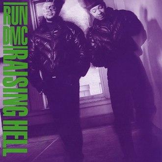 Raising Hell (album) - Image: Raising Hell (Run DMC album cover art)