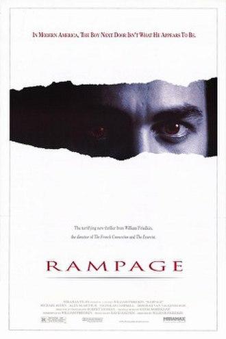 Rampage (1987 film) - Promotional poster
