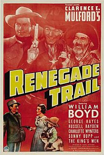 <i>Renegade Trail</i> 1939 film by Lesley Selander