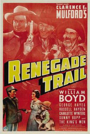 Renegade Trail - Theatrical release poster