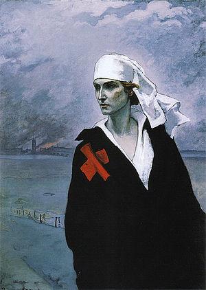 Romaine Brooks - La France Croisée (The Cross of France, 1914)