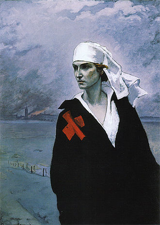 Romaine Brooks - La France Croisée (The Cross of France, 1914)