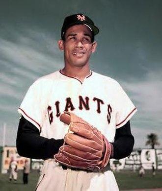 Rubén Gómez (baseball) - Gómez with the Giants