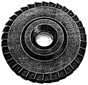 Project Timberwind - Graphite Turbine Wheel